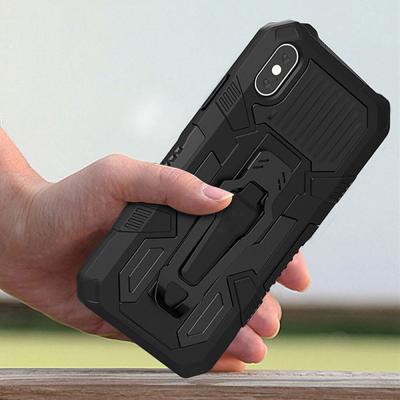 P028 아이폰11 아머 스트롱 클립 커버 하드 케이스