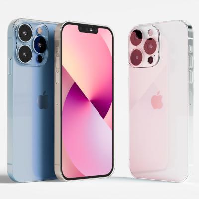 아이폰13 프로 MAX 슬림 에어 생폰 투명컬러케이스