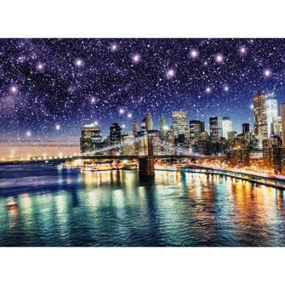 1000조각 퍼즐▶ 별이쏟아지는브룩클린대교(HP1018)
