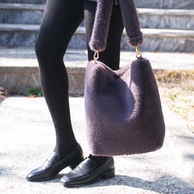 풍성퍼 숄더백 가방