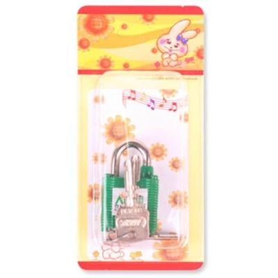 열쇠자물쇠30A(색상램덤)3x5x2cm