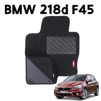 BMW 218d F45 이중 코일 차량 차 발 깔판 매트 black
