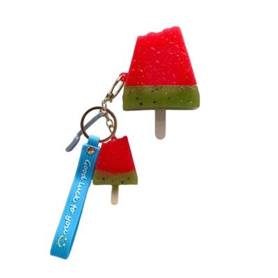 에어팟 프로 1 2세대 수박바 키링 스트랩 젤리 케이스