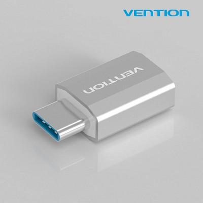 벤션 슈퍼미니 메탈릭 USB 3.1 C타입 젠더 메탈실버