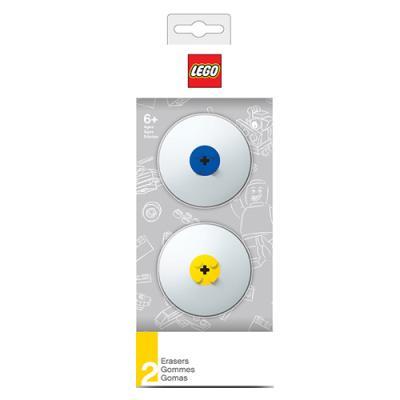 레고 지우개세트_블루,옐로우 (2개)