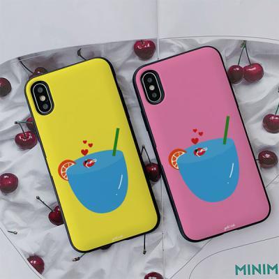 아이폰7플러스 골드리치 휴가 카드케이스