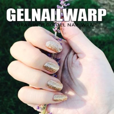 드로잉에그 젤네일스티커 GNWP-GOLD 펄 골드
