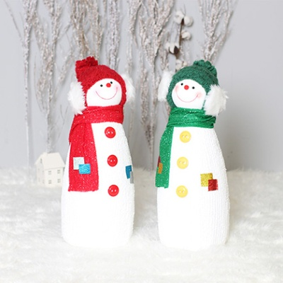크리스마스 친구 눈사람 2P세트(M)