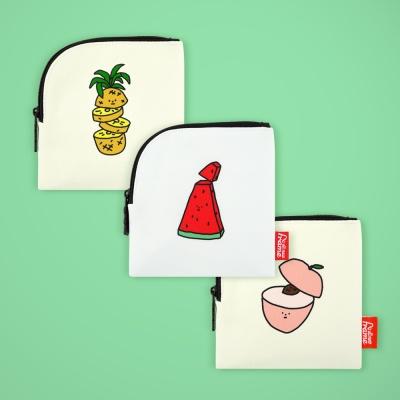 [1+1색상랜덤] 미니파우치 컬렉션 S (조각과일들)