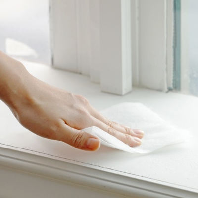 양면 점착식 청소밀대 + 청소포 60매 세트