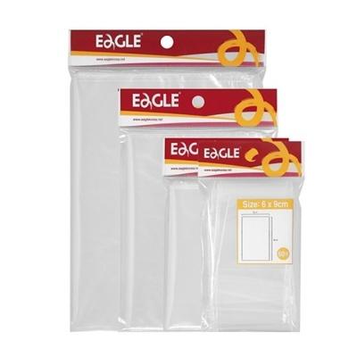 문구사무 투명한 지퍼봉투(소 120×170 20매 Eagle)