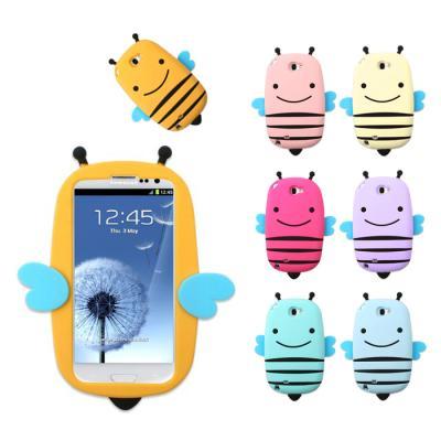 갤럭시S3용 Smile HoneyBee 소프트 케이스