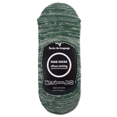 [패션양말] mixed_fakesocks_green