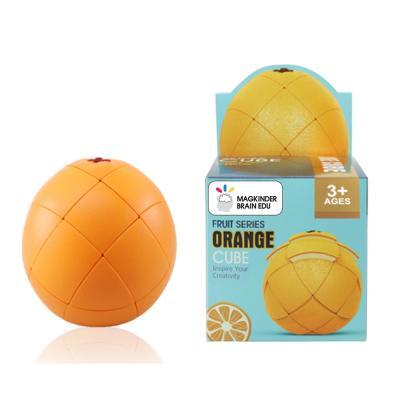 맥킨더 3D 과일 오렌지 큐브