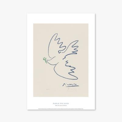현대작가 포스터 갤러리 액자 025 Pablo Picasso Dove of Peace