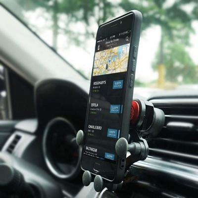 차량용휴대폰거치대 송풍구형 스마트폰 핸드폰거치대