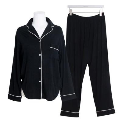 [쿠비카]카라넥 텐셀 투피스 여성잠옷 W527