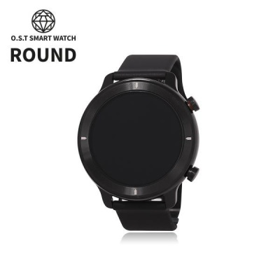 [오에스티] Smart Watch Light Round Black