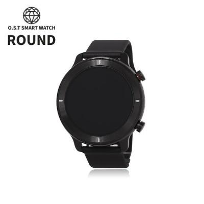 [오에스티] Smart Watch Light Round Black