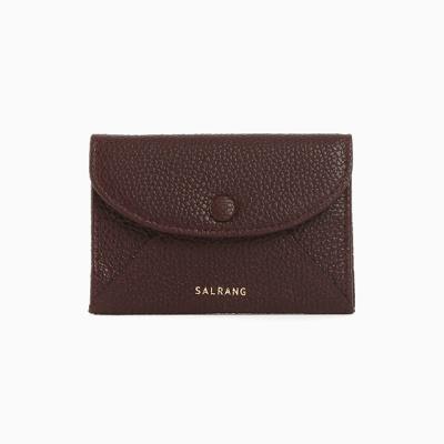REIMS W019 Envelope Card Wallet Burgundy