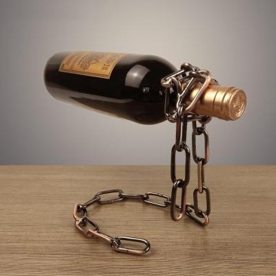특이한 마법 마술 매직 체인 와인 거치대 와인랙 와인진열대