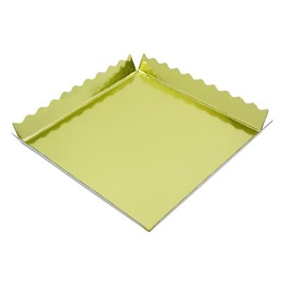 다용도 받침(금색)-미니케익바닥