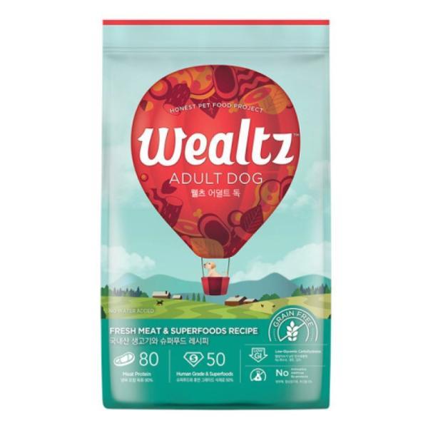 웰츠 독 어덜트 2.1kg 강아지사료