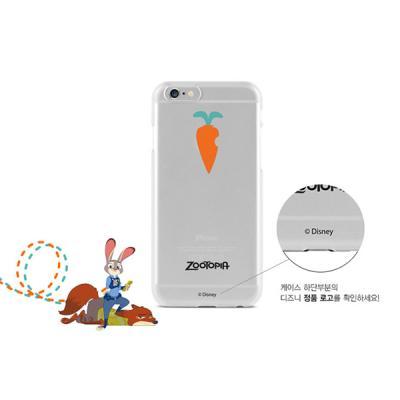 [DISNEY]디즈니 주토피아 당근 젤리 케이스- 아이폰6/6S/6플러스