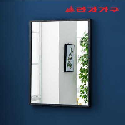 지자 심플 벽걸이 거울 600