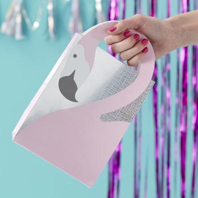 플라밍고 파티백 구디백 쇼핑백 Flamingo Party Bags