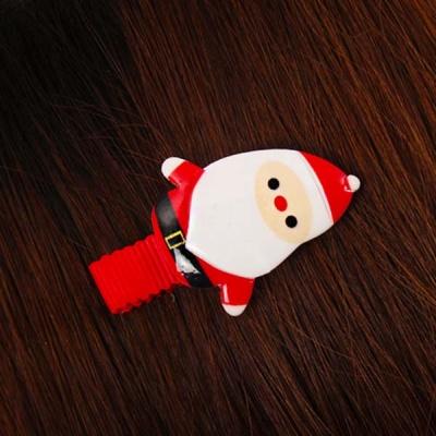 크리스마스머리핀-산타
