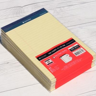 옥스포드 A5 40매×10권 리갈패드-노랑 ALP01210