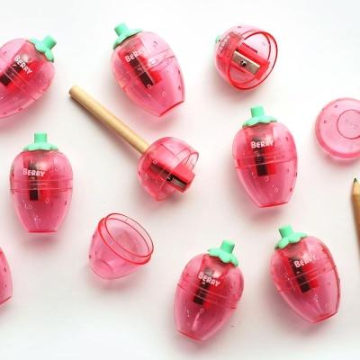 핑크풋 딸기연필깎이