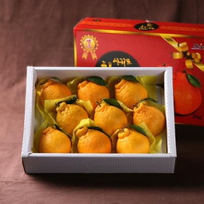 [과일연풍] 청정제주 한라봉 세트 3kg/9~10과