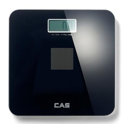카스(CAS) 건전지가 필요없는 솔라 디지털 체중계 HE-S2