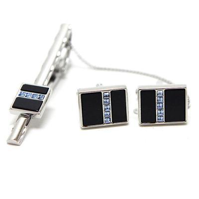 GENTLE ANT 블루 820 넥타이핀+커프스버튼 CH1427041