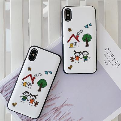 아이폰7 너나우리 카드케이스