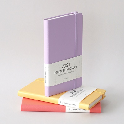 2021 프리즘 슬림다이어리 (월간,날짜형,수첩형)