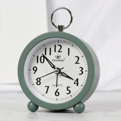 퀴리 원형 알람 탁상시계(그린)