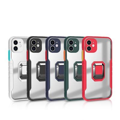 아이폰 12 미니 pro max 컬러 마그네틱 브래킷 케이스