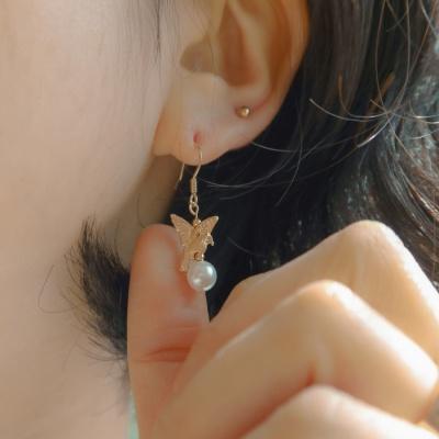 버드 & 진주 귀걸이