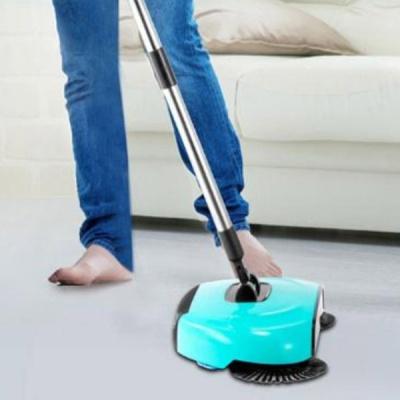 3단 길이조절 먼지 물걸레 청소기 2colors