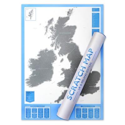 [원더스토어] 럭키스 스크래치 맵 영국 Scratch Map UK