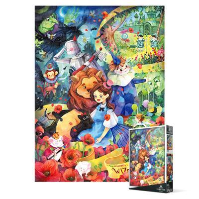 500피스 직소퍼즐 - 오즈의 마법사 신비로운 정원