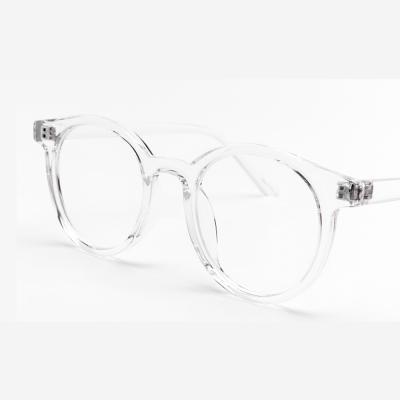 shine 투명 원형 뿔테 안경 뿔테 패션안경 안경테