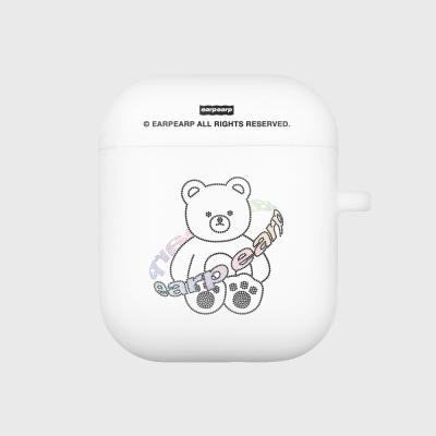 Twinkle gem bear-white(Air pods)
