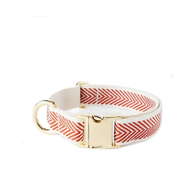 RED COBY GOLD COLLAR