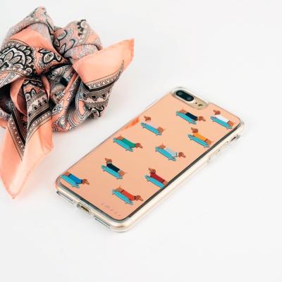 스매스 아이폰 8플러스/7플러스 미러그래픽 보호케이스 닥스훈트