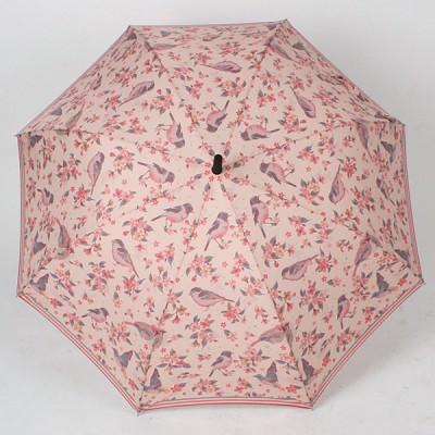 핑크 버드 핑크 자동장우산