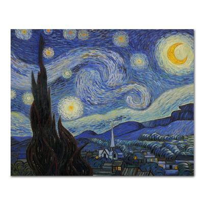 DIY 페인팅 고흐의 밤하늘의 별빛 PH02 (50X40)